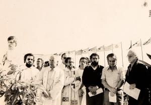 Com Luis Inacio da Silva no ABC paulista, durante o primeiro de maio de 1979